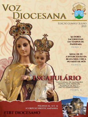 Jornal Voz Diocesana Edição Junho / Julho 2021