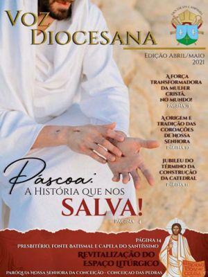Jornal Voz Diocesana Edição Abril / Maio 2021