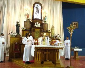 Paróquia São João Batista, em Seritinga, comemora Jubileu de Prata