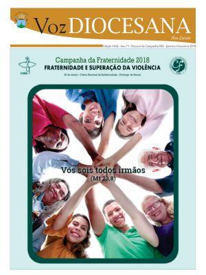 Jornal Voz Diocesana Edição 1426 - Janeiro e Fevereiro 2018